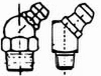 mazací hlavice M10x1 ZINEK 45 stupňů DIN 71412B