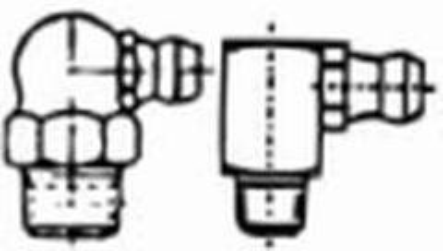 mazací hlavice M8x1 ZINEK 90 stupňů DIN 71412C