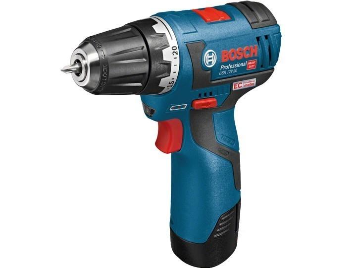 aku šroubovák Bosch GSB 120-2-Li 2x1.5 Ah 06019F3007