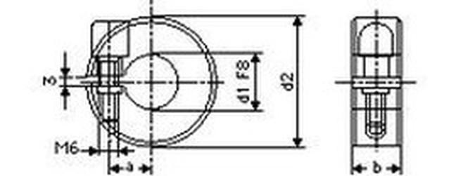 kroužek 20 svěrací BN 325