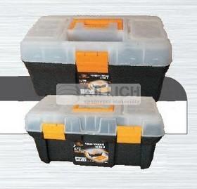 box na nářadí 40x21x19cm plastový s organizéry