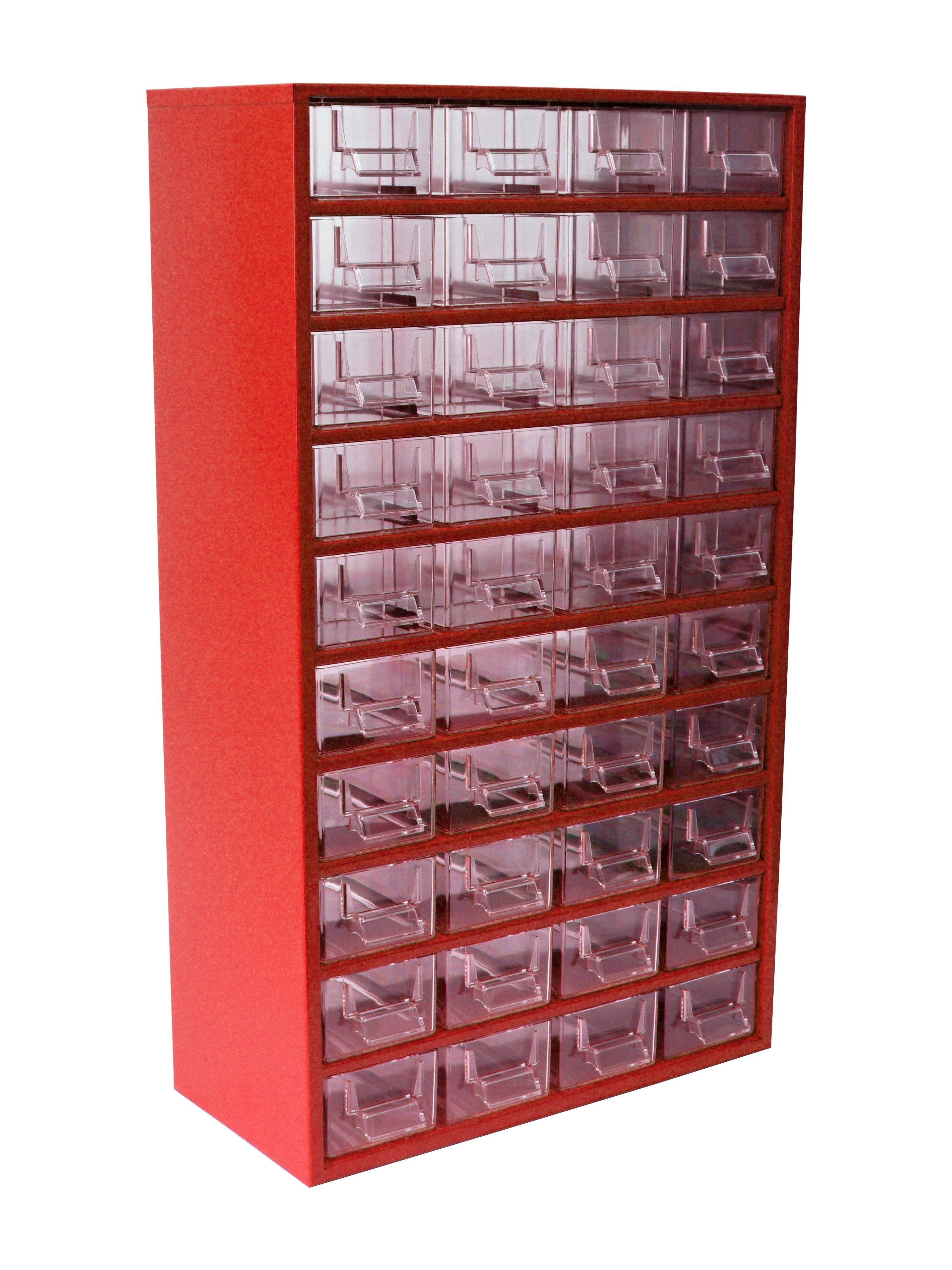 skříňka - 60M červená na nářadí (box)