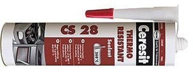 silikon motor tmel CERESIT 310ml CS28 červený +260