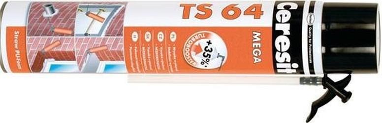 pu pěna CERESIT 800ml MEGA TS 64 trubičková nízkoexpanzní