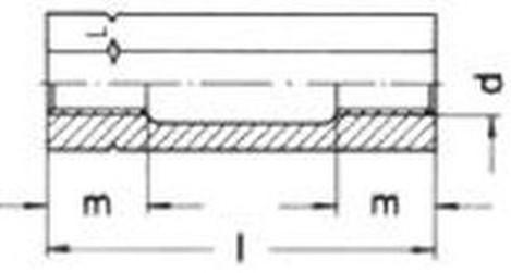 matice M20 ZINEK S235JR napínače DIN 1479