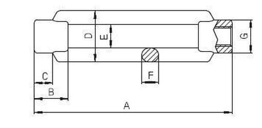 matice M10 A4 NEREZ napínák bez konců DIN 1480