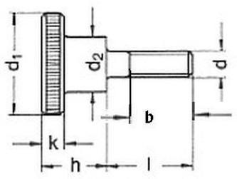 šroub M6x35 ZINEK 5.8 rýhovaná hlava DIN 464