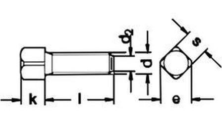 šroub M10x40 BEZ PÚ 8.8 upínací DIN 479
