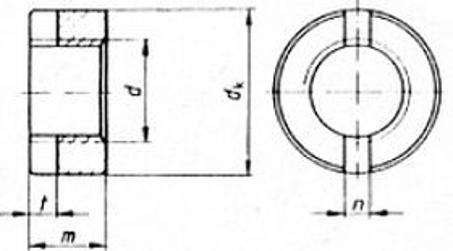 matice M4 ZINEK kulatá DIN 546