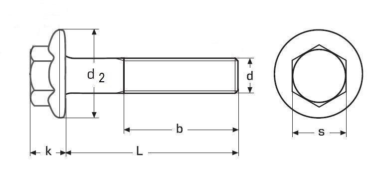 šroub M12x40 BEZ PÚ 8.8 límec hladký DIN 6921