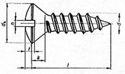 šroub do plechu 2.9x9.5 A2 NEREZ čočková hlava rovná drážka DIN 7973