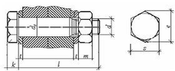 šroub M16x65 ŽÁROVÝ ZINEK 10.9 lícovaný DIN 7999 / EN 14399