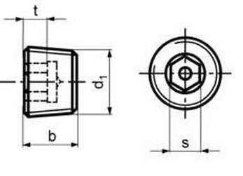 zátka M22x1.5 A2 NEREZ vypouštěcí DIN 906