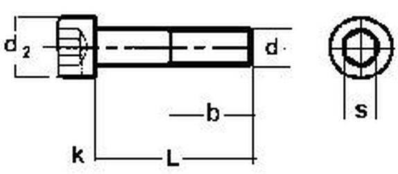 imbus 1/4-20x1.1/2 UNC BEZ PÚ 12.9 válcová hlava DIN 912