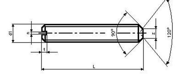 šroub M3x4 ZINEK 45H stavěcí+kužel DIN 438