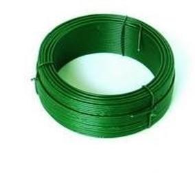 drát 1.4x50m vázací PVC zelený