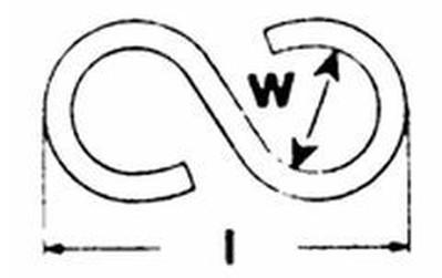 háček 3.0x30 ZINEK tvar S