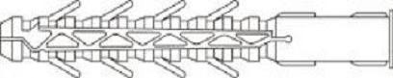 hmoždinka 12x120 nylon KPR/SMRP