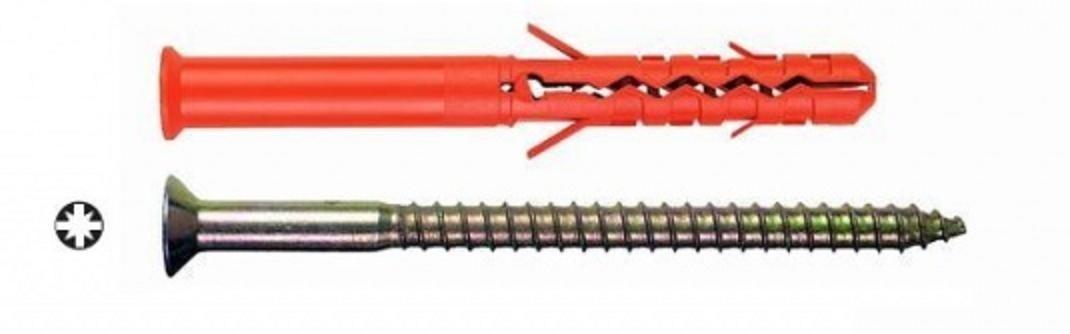 hmoždinka 10x140 MBR-S zápustná hlava křížová drážka 1121014