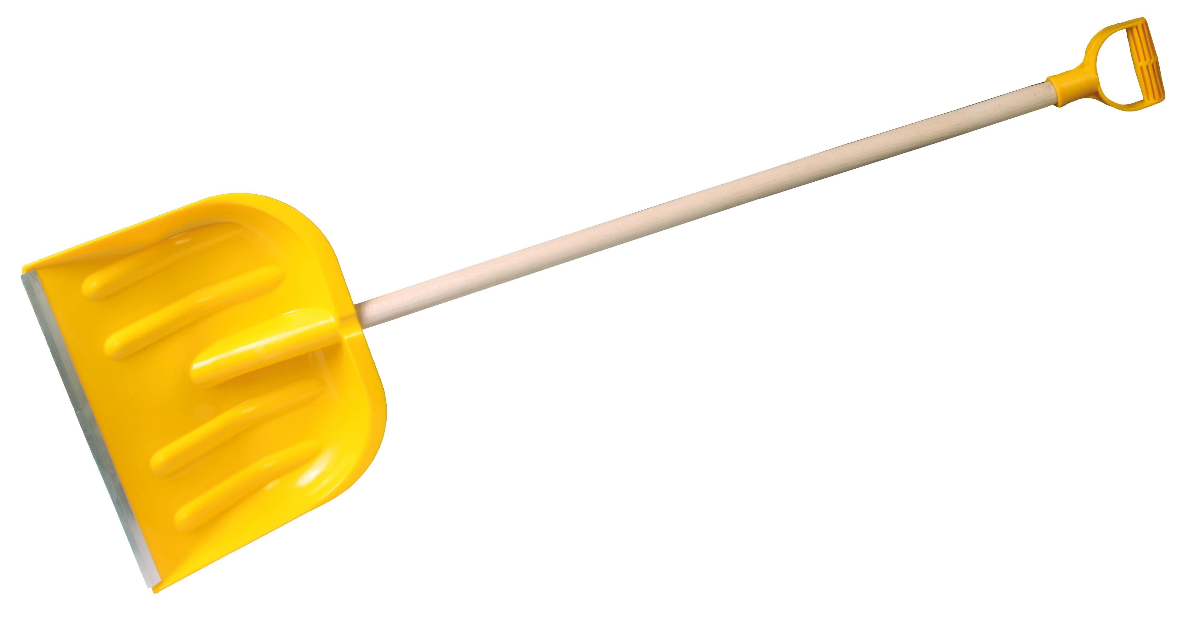 hrablo 39x33 cm na sníh žluté