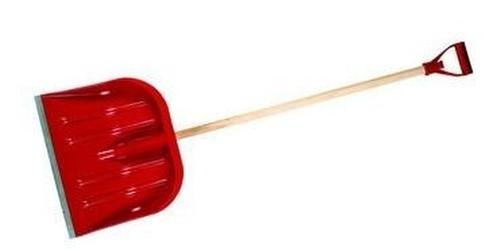 hrablo 48x40 cm na sníh červené