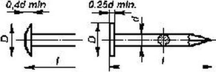 hřebík 10/1.4 čalounický 2841.20