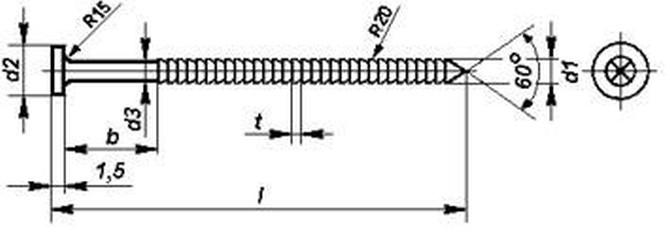 hřebík 100/4.0 konvexní