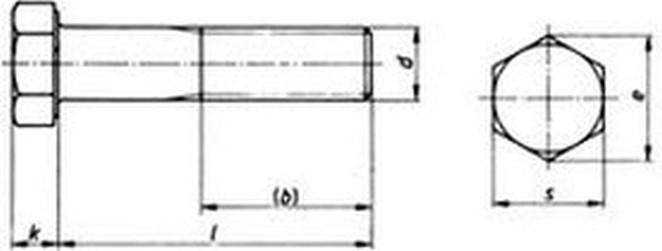 šroub M10x55 ZINEK 8.8 OK16 šestihranný ISO 4014