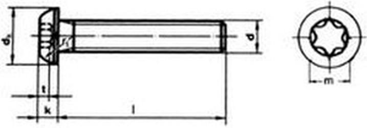 imbus M3x20 POMOSAZENÝ 10.9 půlkulatá hlava ISO 7380-1