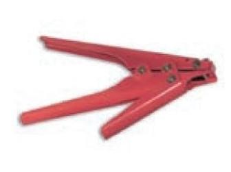 kleště na širší stahovací pásky (max. šířka pásku 9.5, tloušťka max 2.3)