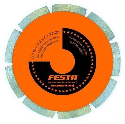 kotouč diamantový FESTA segment 115