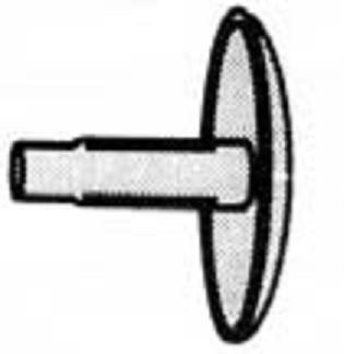 krytka AVEX 4.8mm - bílá RAL 9010