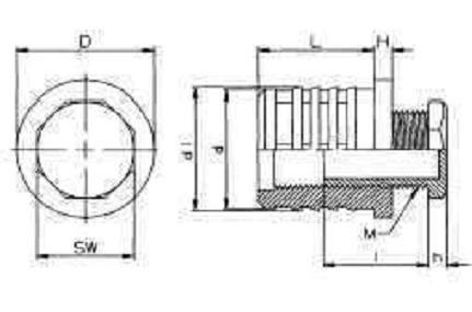 krytka pr.40 1.5-2 M22x25 černá JLR