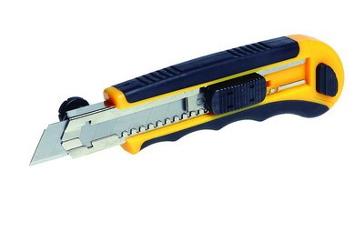 nůž odlamovací červený/žlutý L18