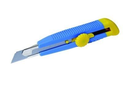 nůž odlamovací žlutý/modrý kol L17