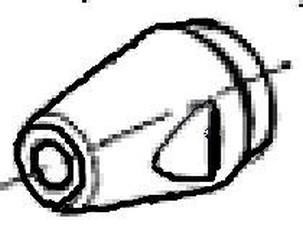 ocelová objímka na nýtovací kleště Flipper 7012039