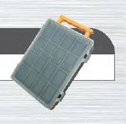 organizér plastový 25x19x6cm 3-přihrádky