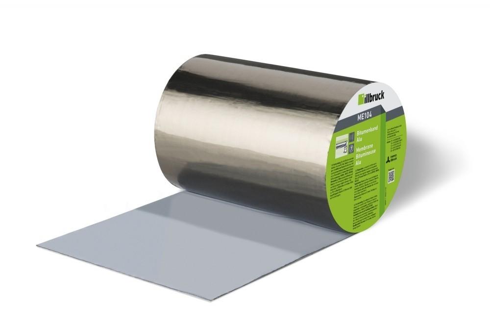 páska illbruck Bitumen Alu univerzální samolepící 75x10m ME104