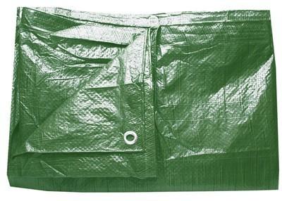 plachta 5x8 zelená (modrá) standart
