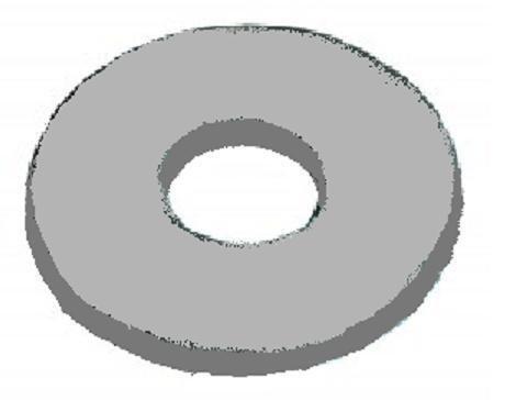 plastová podložka M5 pr.5.3x15x1.2 polyamid pod nýty DIN 9021