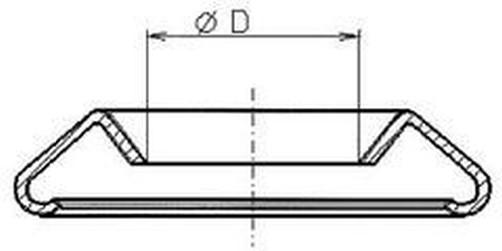 podložka M3 pr. 4.2x9 NIKL sedlářská