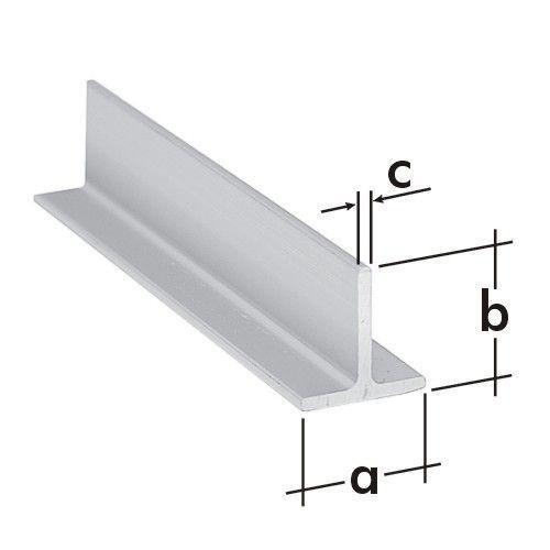 "profil Al-hliník ""T"" 20x20x2x2m"