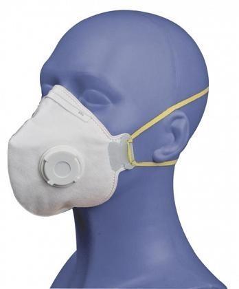 Respirátor SPIRO, P1. skládací s ventilkem