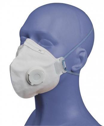 Respirátor SPIRO, P2. skládací s ventilkem