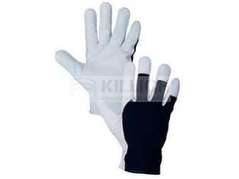 Rukavice TECHNIK ECO, vel.10 černo - bílé
