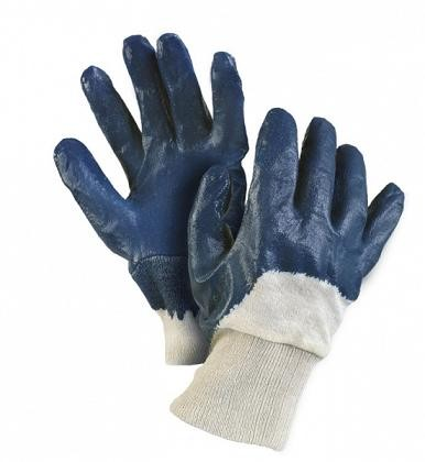 Rukavice JOKI polomáč. v nitrilu vel.10 modré