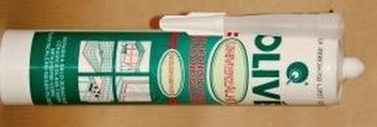 silikon univerzální Olive bílý MP 310ml