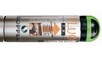 spray Soppec Fluo značkovací zelený reflexní 500ml