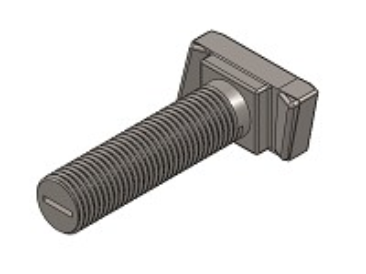 šroub M12x100 ZINEK 4.6 typ HS 50/30 s maticí