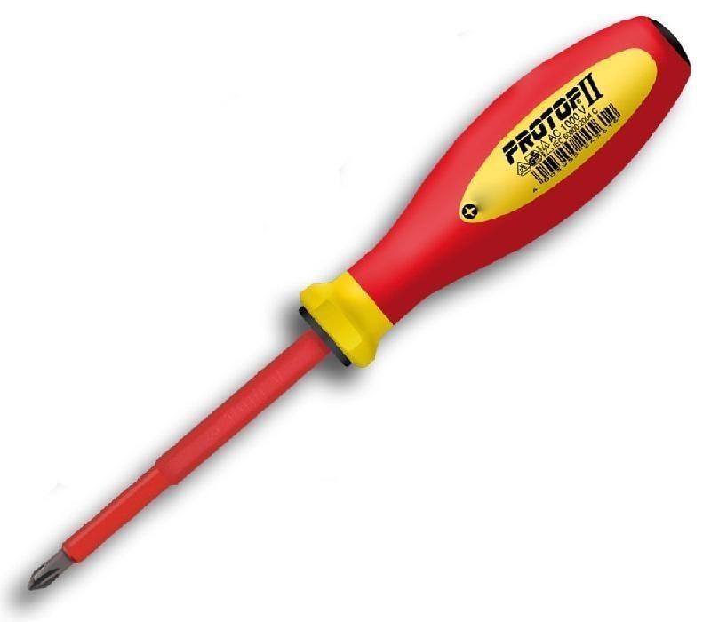 šroubovák PH 1x80 Protop červeno-žlutý 74062,04